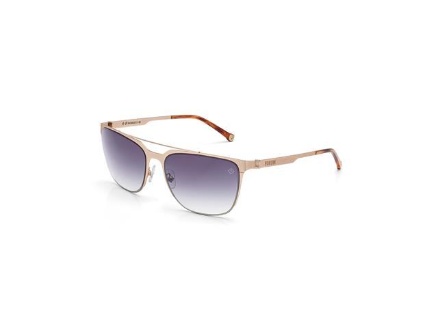 Óculos De Sol Fórum Dourado Fosco Marrom Demi - Shopping TudoAzul d765ddb0b9