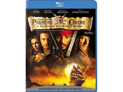 Blu-Ray Piratas do Caribe: A Maldição do Pérola Negra
