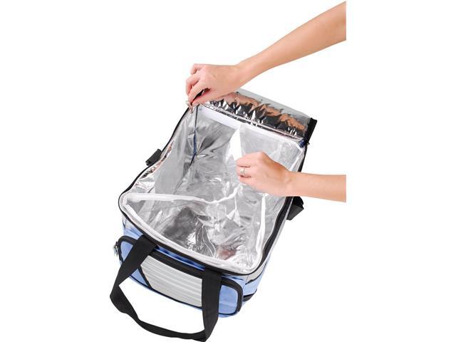 Bolsa Térmica MOR Ice Cooler Dobrável com Divisória 36 Litros - 4