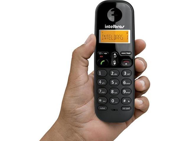 Telefone Intelbras sem Fio TS3110  Preto - 1