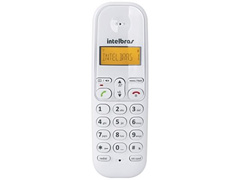 Telefone Intelbras sem Fio TS3110 ID Branco - 2