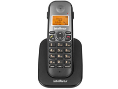 Ramal sem Fio Digital Intelbras TS 5121 Preto - 0