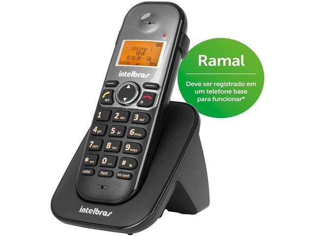Ramal sem Fio Digital Intelbras TS 5121 Preto - 1