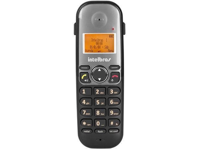 Ramal sem Fio Digital Intelbras TS 5121 Preto - 2