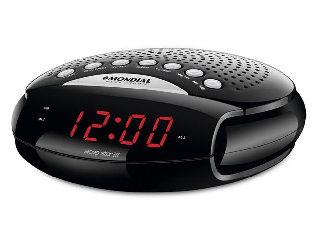 Rádio Relógio Mondial Sleep Star III RR-03