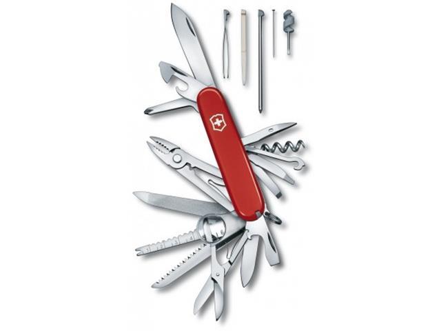 Canivete Suiço Victorinox Swisschamp 33 Funções Vermelho