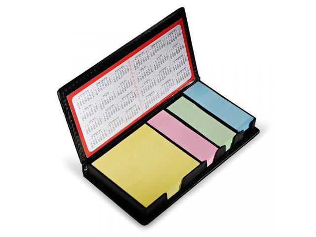 Bloco para anotação auto colantes 4 cores