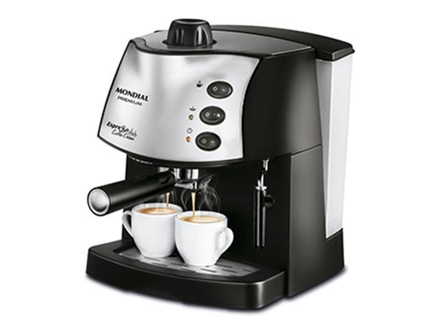 Máquina de Café Espresso Mondial Coffee Cream 220V