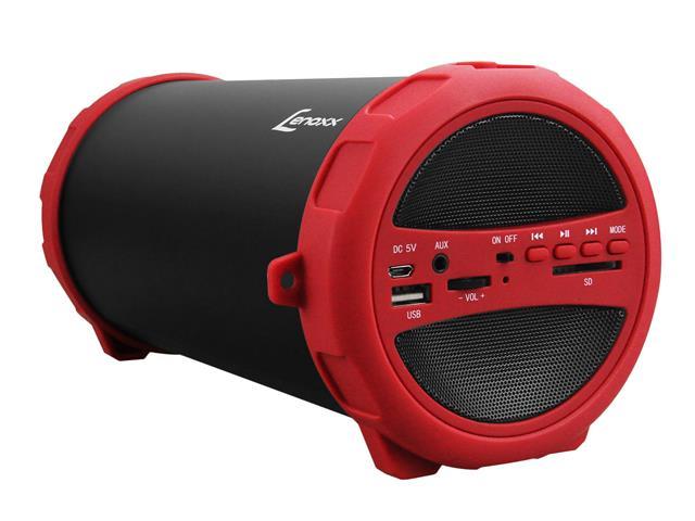 Caixa de Som Speaker Bluetooth Rádio FM Portátil Lenoxx 20W USB MP3 SD - 1