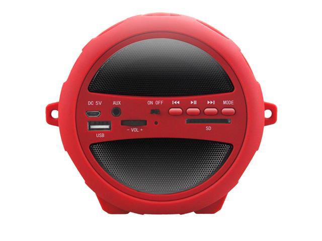 Caixa de Som Speaker Bluetooth Rádio FM Portátil Lenoxx 20W USB MP3 SD - 4