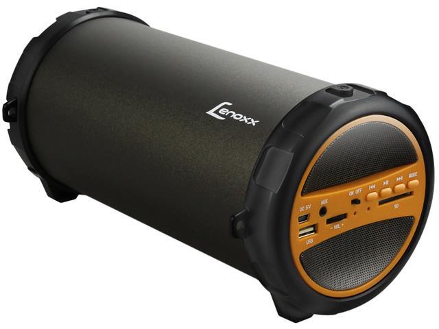 Caixa de Som Speaker Bluetooth Rádio FM Portátil Lenoxx 30W Subwoofer - 4