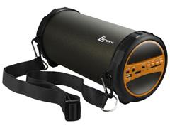 Caixa de Som Speaker Bluetooth Rádio FM Portátil Lenoxx 30W Subwoofer
