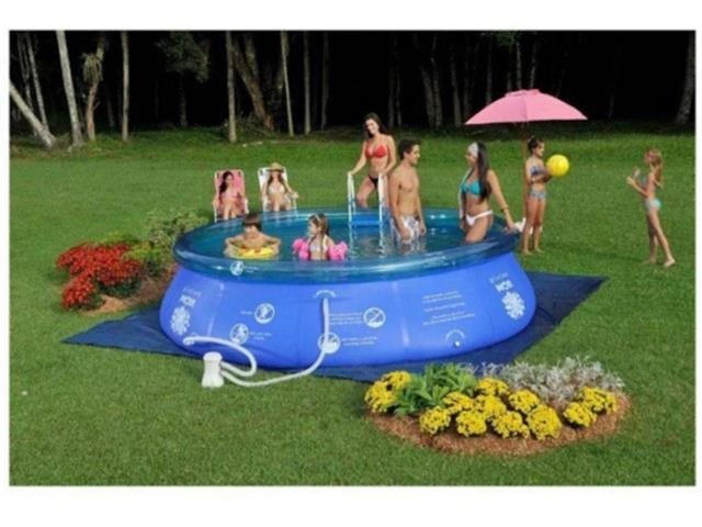 Piscina Inflável MOR Splash Fun 9000 Litros 390 x 90 cm - 5
