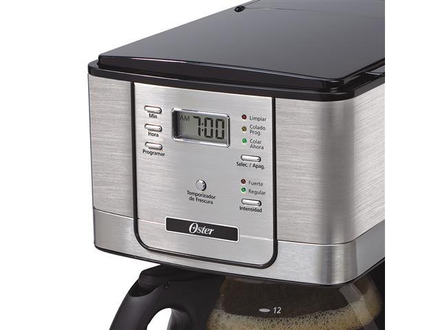 Cafeteiras Oster Flavor Prata Programavel 110V - 3