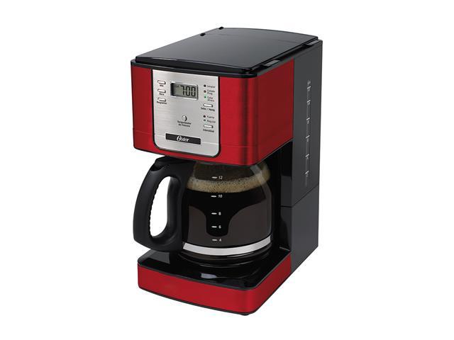 Cafeteiras Oster Flavor Vermelho Programavel 110V