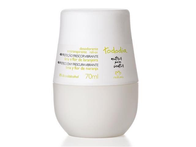 Desodorante Roll-on Natura Tododia Lima e Flor de Laranjeira 70ml