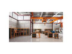 Painel para ferramentas grande 2 portas Canto L Tramontina PRO - 7