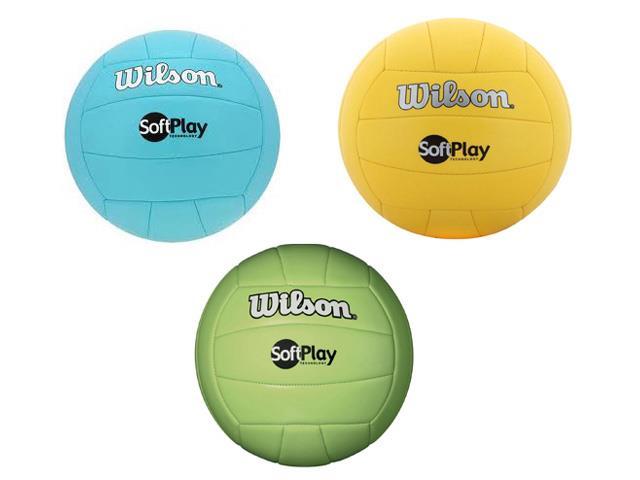 Bola de Vôlei Wilson Soft Play Colorida