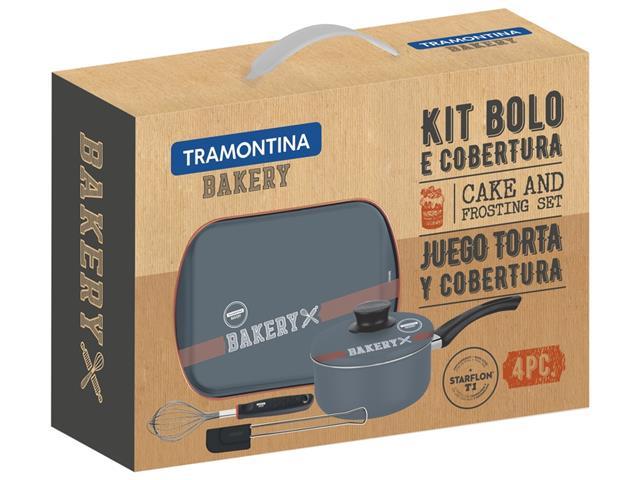 Kit para Bolo e Cobertura Tramontina Bakery Antiaderente 4 Peças - 2