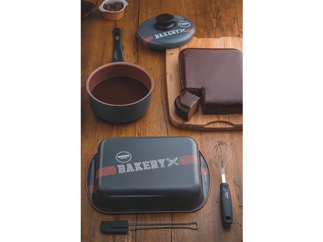 Kit para Bolo e Cobertura Tramontina Bakery Antiaderente 4 Peças - 1