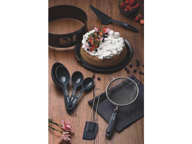 Kit para Bolo Tramontina Bakery em Aço Inox e Antiaderente 8 Peças - 1