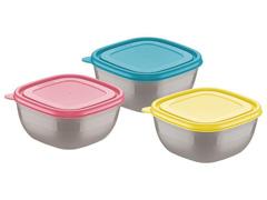Jogo de Bowls Tramontina Mix Color Mis 600ml 3 Peças