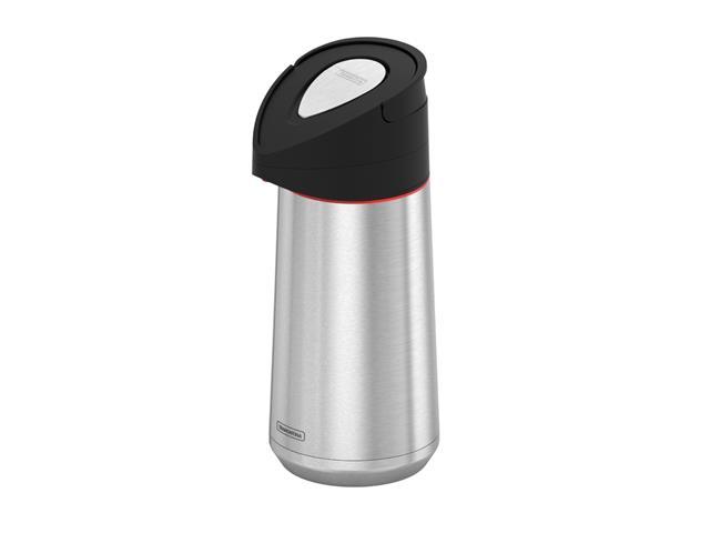 Garrafa Térmica Tramontina Exata Aço Inox com Ampola de Aço 1,4 Litros - 1
