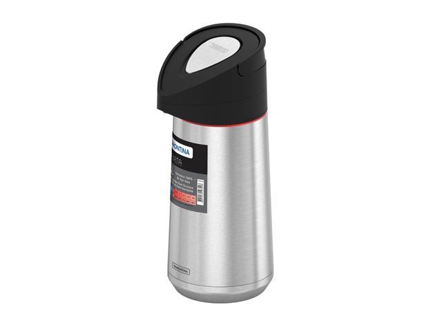 Garrafa Térmica Tramontina Exata Aço Inox com Ampola de Aço 1,4 Litros