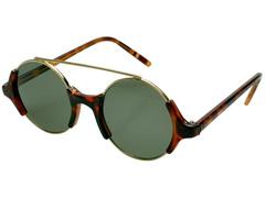 Óculos de Sol Unissex Tamanho Único Opus Marrom com detalhes Preto