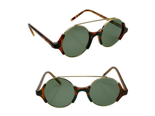 Óculos de Sol Unissex Tamanho Único Opus Marrom com detalhes Preto - 2