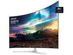"""Smart TV LED 65"""" Curva Samsung Pontos Quânticos SUHD 4K 4 HDMI 240Hz - 2"""