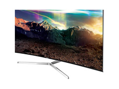"Smart TV LED 65"" Curva Samsung Pontos Quânticos SUHD 4K 4 HDMI 240Hz - 6"