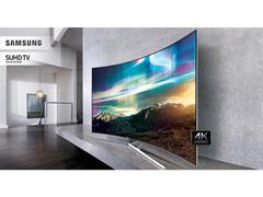 """Smart TV LED 65"""" Curva Samsung Pontos Quânticos SUHD 4K 4 HDMI 240Hz - 8"""