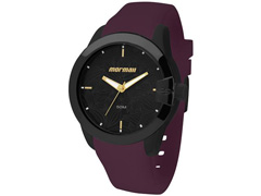 Relógio Mormaii Analógico Pulseira da Silicone Roxa MO2035DW