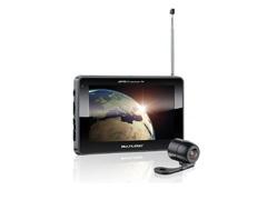 """GPS Multilaser Tracker III Tela 7.0"""" com Câmera de Ré TV Digital GP039"""