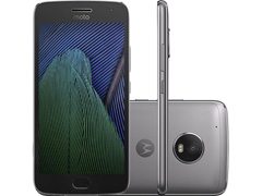 """Smartphone Motorola Moto G5 Plus 32GB Tela 5.2"""" TV Platinum 4G"""