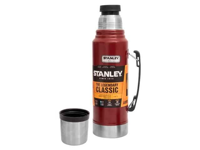 Garrafa Térmica Aladdin Stanley Gt Classic 1,0L - Vermelha