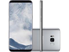 "Smartphone Samsung Galaxy S8+ 4G Dual Chip Tela 6.2"" 64GB 12MP Prata"