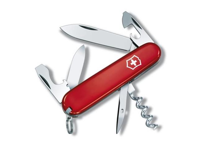 Canivete Victorinox Tourist 12 Funções Vermelho
