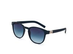 Óculos De Sol Colcci Bowie Azul Escuro Rajado Fosco Fem