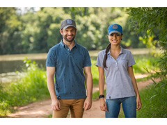 Camisa Polo Wheat Agro Bayer Masc - 1