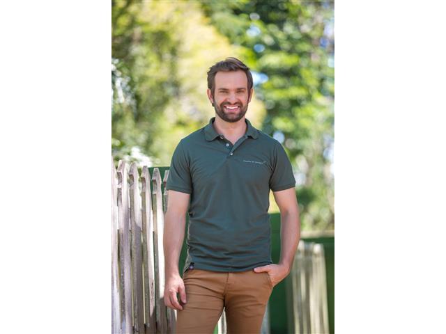 Camisa Polo Orgulho de ser Agro Bayer Masc