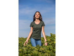 Camiseta Symbols Green Agro Bayer Fem - 1