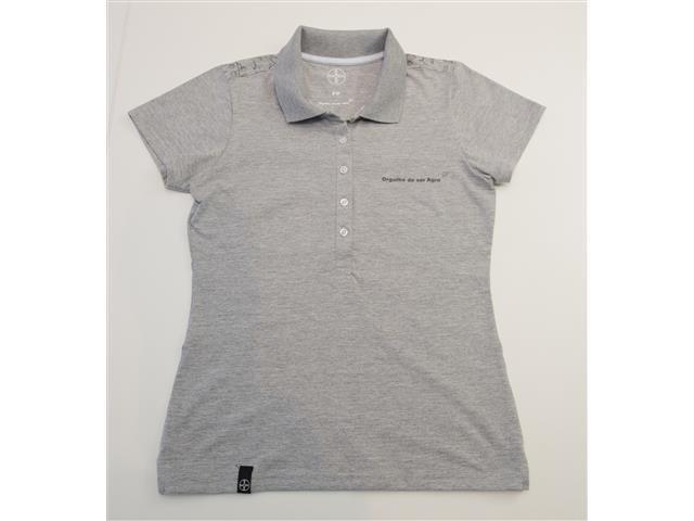 Camisa Polo Orgulho de ser Agro Bayer Fem