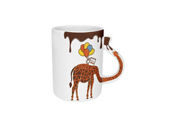 Caneca Oxford Joy 300ml Joy Girafa / Bolo Cenoura