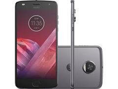 "Smartphone Motorola Moto Z 2 Play 4G 64GB Tela5.5""PlatinumDual Chip"