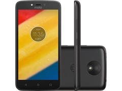 "Smartphone Motorola Moto C Plus 4G Dual Tela 5"" 8GB Câmera 8MP Preto"