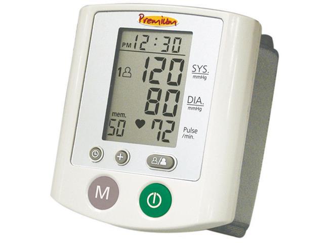 Aparelho/Medidor de Pressão Digital de Pulso Premium RS380
