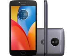 """Smartphone Motorola Moto E4 Plus 4G Dual Tela 5,5"""" 16GB 13MP Titanium"""