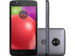 """Smartphone Motorola Moto E4 4G Dual Tela 5"""" 16GB Câmera 8MP Titanium"""